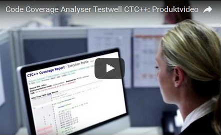 Code Coverage Analyser Testwell CTC++: Produktvideo