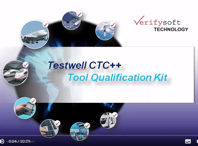 Testwell CTC++ Qualification Kit