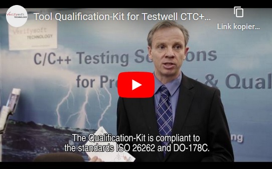 Qualification Kit for Testwell CTC++