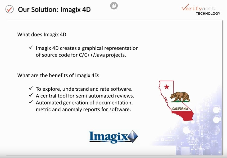Live Demo (partial) of Imagix4D for Reverse Engineering and Refactoring